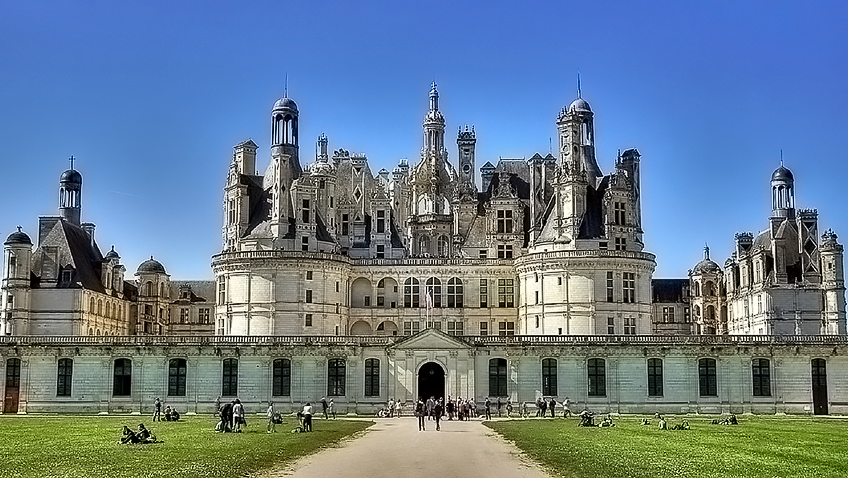 Chateau de Chambord - Free for commercial use - No attribution required - Credit Pixabay