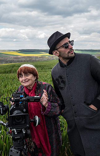 Agnès Varda and JR in Faces Places - Credit IMDB