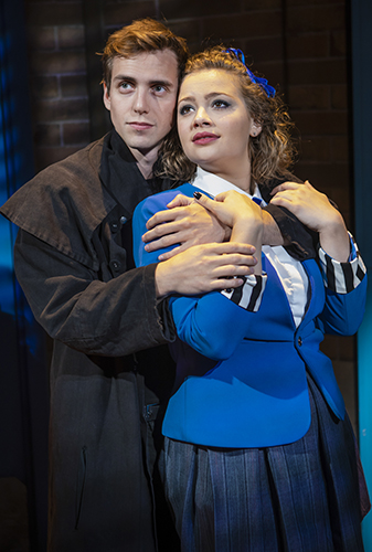Jamie Muscato and Carrie Hope Fletcher in Heathers