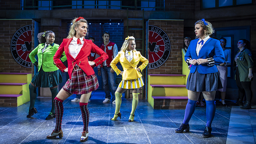 Carpe diem, girls! Heathers is now a rock musical