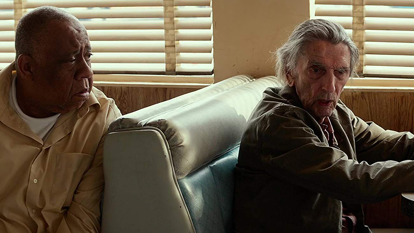 Harry Dean Stanton and Barry Shabaka Henley in Lucky - Credit IMDB
