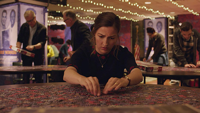 The under-used Kelly Macdonald is compelling a leading role, but she never feels real