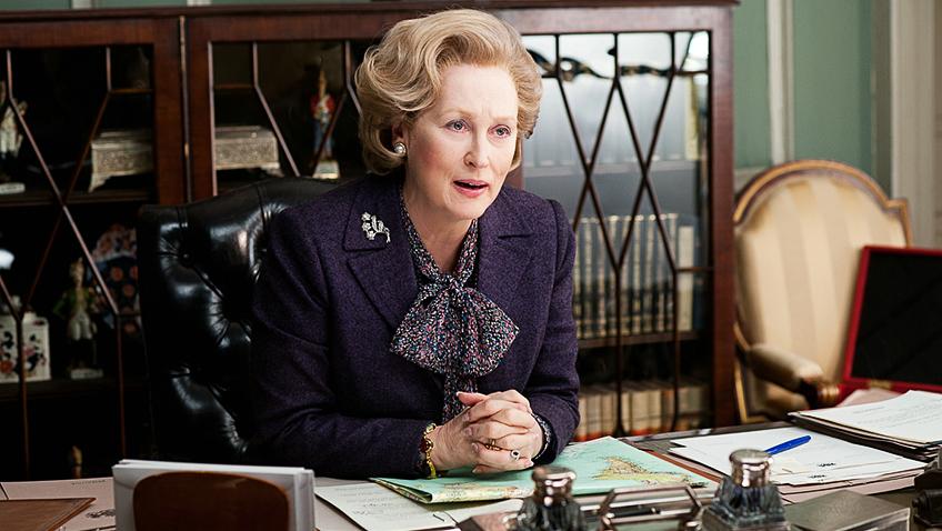 Meryl Streep in The Iron Lady - Credit IMDB