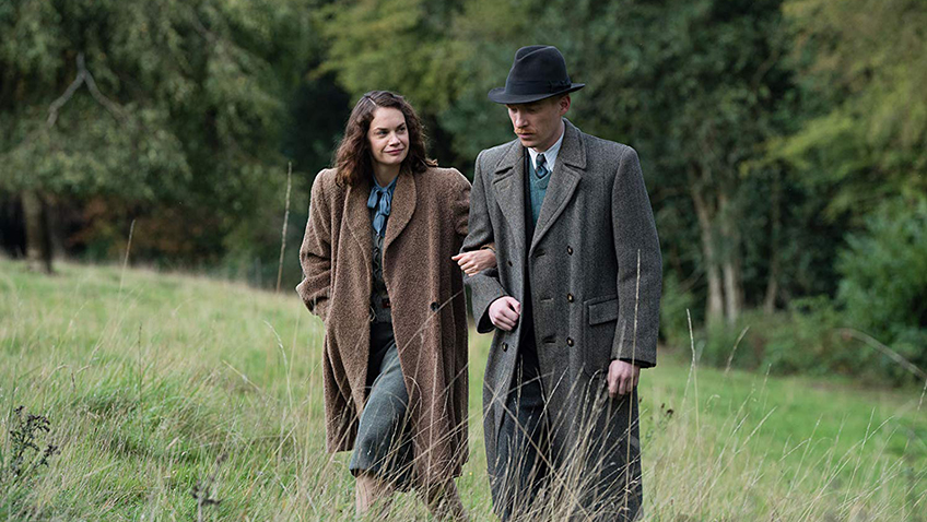 Domhnall Gleeson and Ruth Wilson in The Little Stranger - Credit IMDB