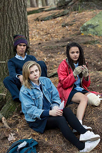 Chloë Grace Moretz, Forrest Goodluck and Sasha Lane in The Miseducation of Cameron Post - Credit IMDB