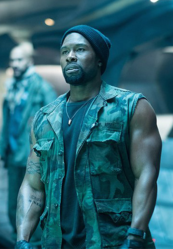 Trevante Rhodes in The Predator - Credit IMDB