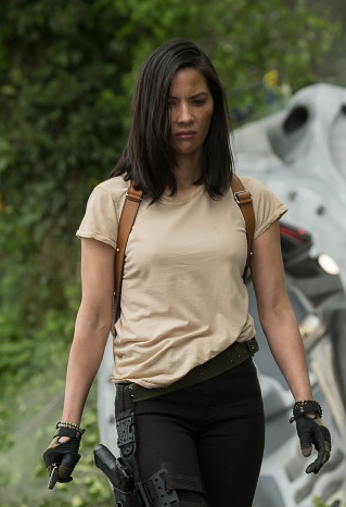 Olivia Munn in The Predator - Credit IMDB