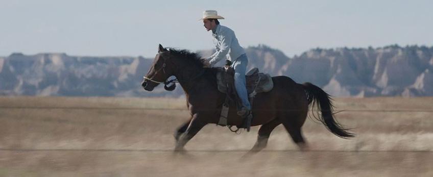 Brady Jandreau in The Rider - Credit IMDB