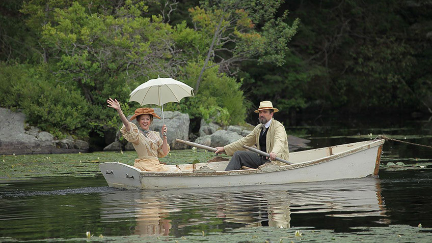 Annette Bening and Jon Tenney in The Seagull - Credit IMDB
