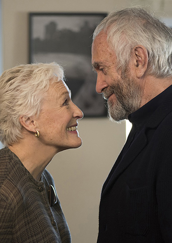 Glenn Close and Jonathan Pryce in The Wife - Copyright Meta Film London Ltd - Credit IMDB