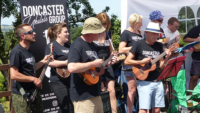 The joys and anti-ageing benefits of playing in a ukulele group
