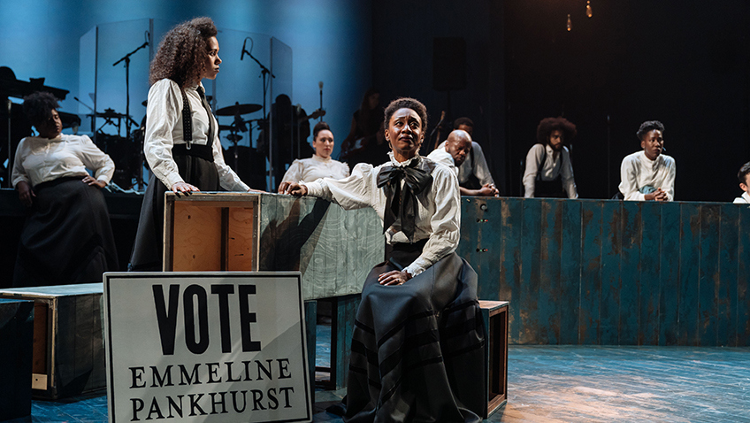 Beverley Knight and Witney White in Sylvia - Credit Manuel Harlan