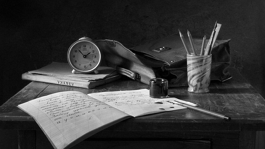 School desk - Writing - Free for commercial use No attribution required - Credit Pixabay