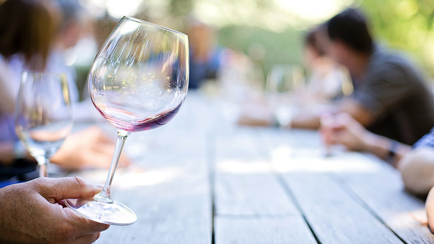 Could you tell what wine you're drinking?
