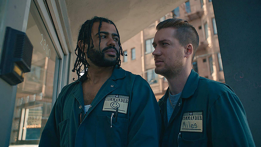 Rafael Casal and Daveed Diggs in Blindspotting - Copyright Lionsgate - Credit IMDB