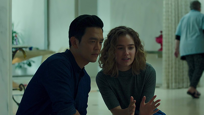 John Cho and Haley Lu Richardson in Columbus - © Columbus (2017) - Credit IMDB