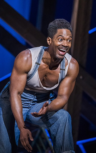 Nmon Ford in ENO's Porgy and Bess - Credit Tristram Kenton