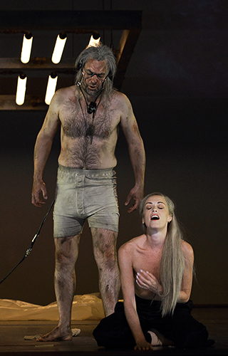 David Soar and Allison Cooke in Salome - Credit Catherine Ashmore
