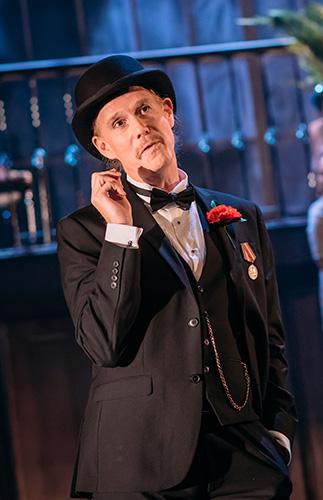 Christopher Green in Twelfth Night - Credit Mihaela Bodlovic
