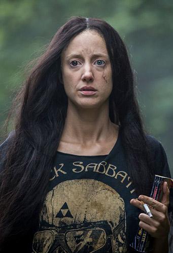 Andrea Riseborough in Mandy - Credit IMDB