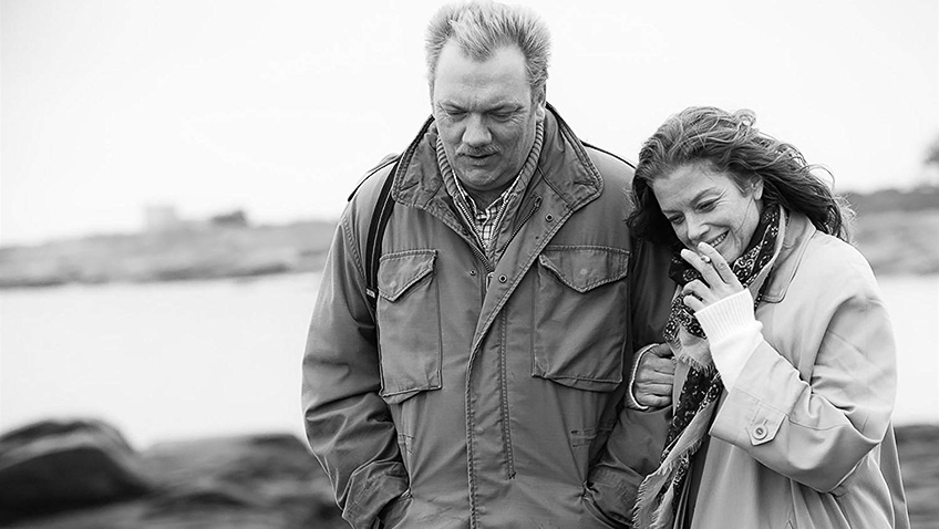 Marie Bäumer and Vincent Furic in 3 Days in Quiberon - Credit IMDB