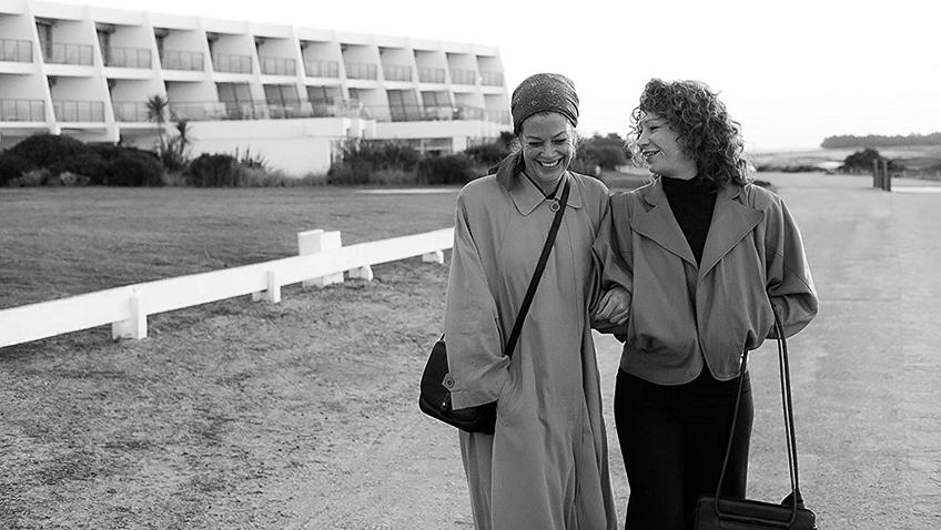 Marie Bäumer and Birgit Minichmayr in 3 Days in Quiberon - Credit IMDB