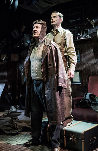 Charles Aitken and Oliver Beamish in Billy Bishop Goes to War - Credit Robert Workman