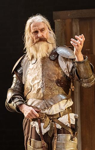 David Threlfall in Don Quixote - Credit Manuel Harlan