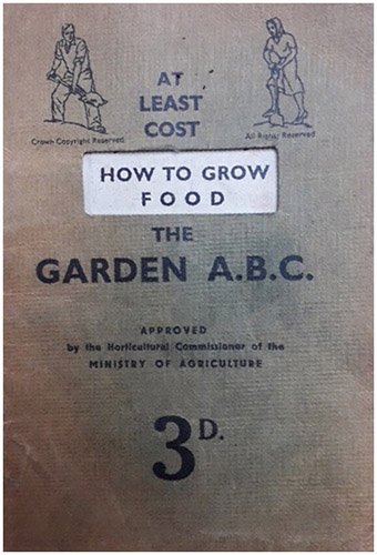 How to Grow Food - WW2 rations book - Free for commercial use No attribution required - Credit Pixabay