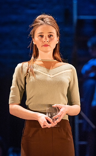 Jessica Barden in Pinter Four - Credit Marc Brenner