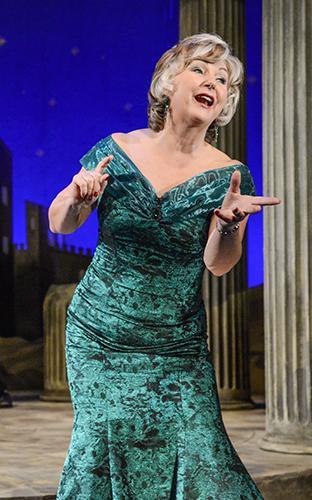 Lesley Garrett in The Messiah - Credit Robert Day