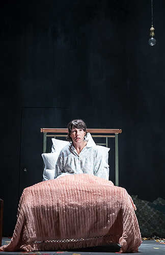 Tamsin Greig in Pinter Three - Credit Marc Brenner