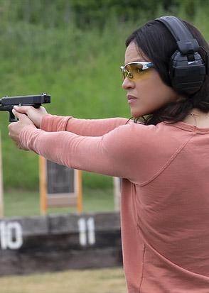 Michelle Rodriguez in Widows - Credit IIMDB