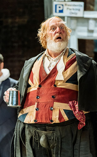 David Troughton in The Merry Wives of Windsor
