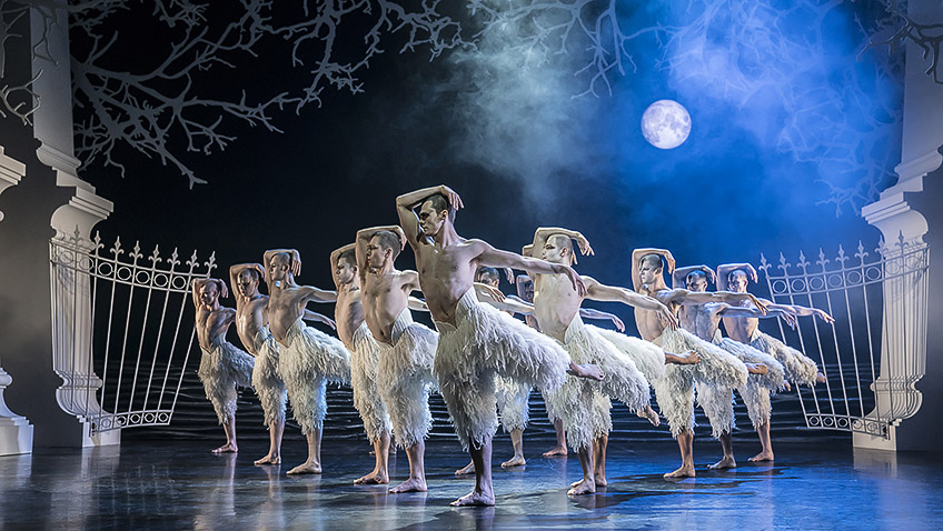 Matthew Bourne's all-male Swan Lake is back