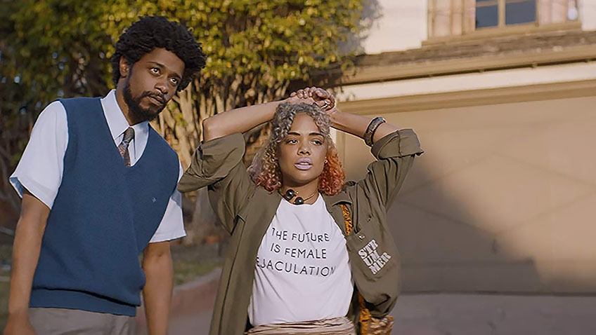 Boots Riley's directorial debut is a stylish dark social satire that cannot sustain its impressive first half