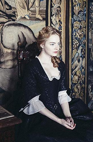 Emma Stone in The Favourite - Credit IMDB