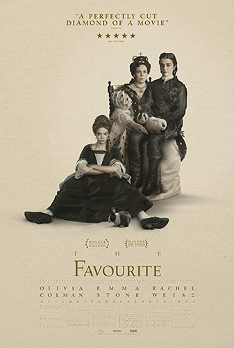 The Favourite cover - Credit IMDB