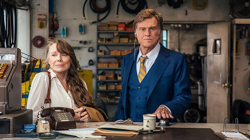 Robert Redford and Sissy Spacek in The Old Man & the Gun - Credit IMDB