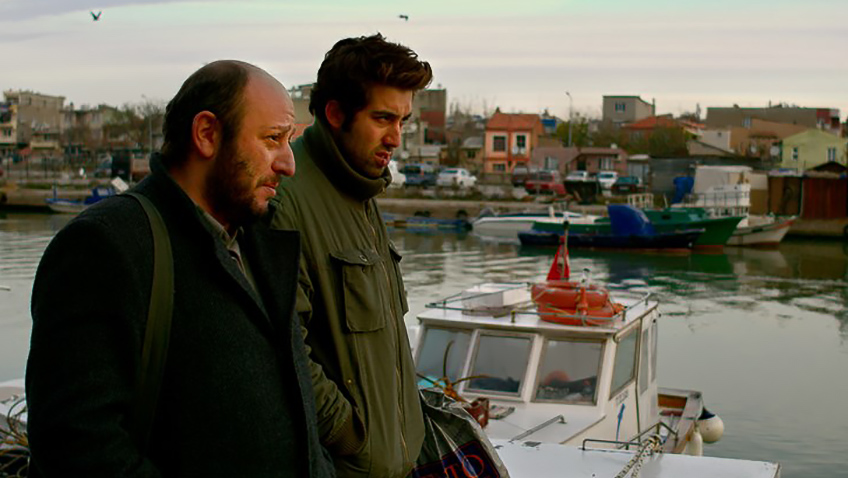 Serkan Keskin and Dogu Demirkol in The Wild Pear Tree - Credit IMDB