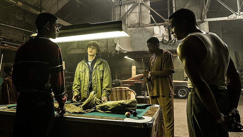 Jonathan Majors, YG, RJ Cyler and Richie Merritt in White Boy Rick - Credit IMDB