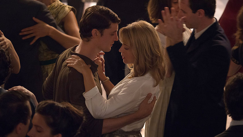 Virginie Efira and Niels Schneider in An Impossible Love - Credit IMDB