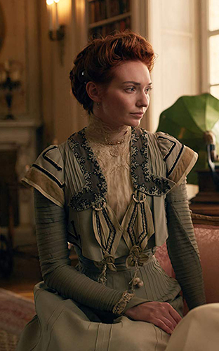 Eleanor Tomlinson in Colette - Credit IMDB