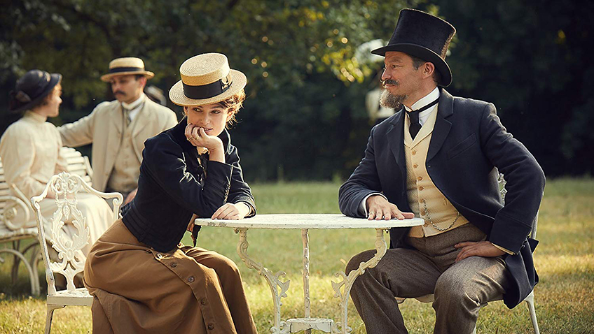 Keira Knightley and Dominic West in Colette - Credit IMDB