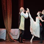 The physical infatuation and eroticism is there in Kenneth MacMillan's choreography