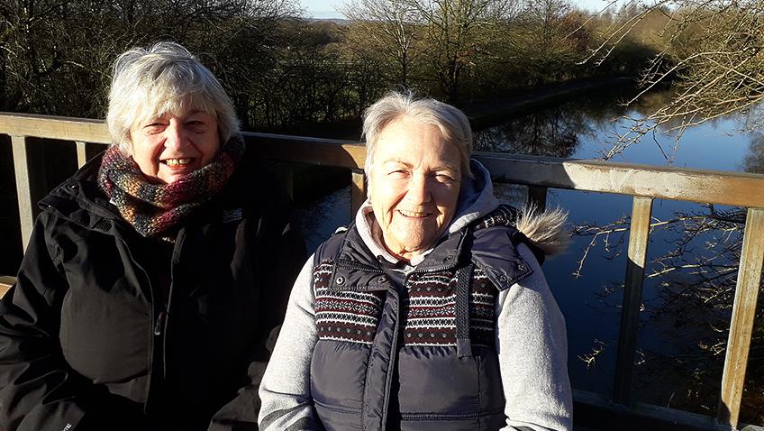 Janet Hughes and Anne-Marie Marriott - Credit Nigel Heath