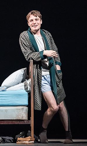 Luke Thallon in Pinter Five - Credit Marc Brenner
