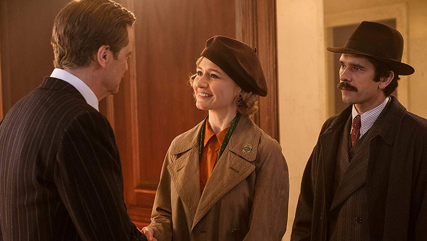 Colin Firth, Emily Mortimer and Ben Whishaw in Mary Poppins Returns - Photo Credit: Jay Maidment - Copyright 2017 Disney Enterprises, Inc. All Rights Reserved.