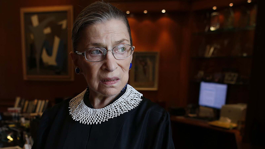 A remarkable role model sans pareil, RBG is the 85-year-old star of this inspirational documentary