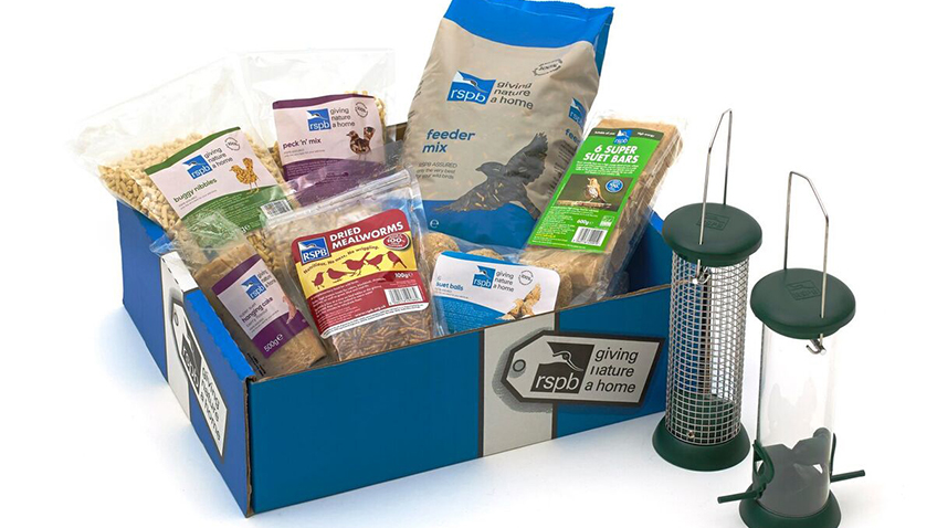 Win a Bumper Food Gift Box with feeders